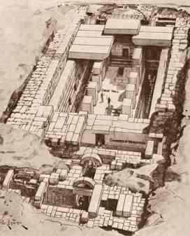 el templo de osiris y la flor de la vida